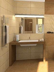 Men 39 s bathroom powder rooms and bathroom on pinterest for Bathroom ideas for guys