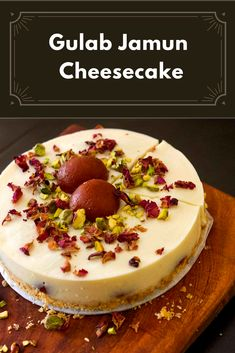 Here is a mouth-watering fusion dessert that we would love to get our hands on. Gulab Jamun and Cheesecake in one delectable dish? Bring it on, we say? Do you want to try it on your wedding menu? Indian Wedding Food, Gulab Jamun, Wedding Menu, Restaurants, Recipies, Cheesecake, Food And Drink, Hands, Dishes