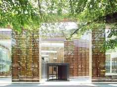 Musashino Art University Library by Sou Fujimoto