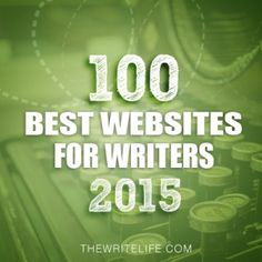 The 100 Best Websites for Writers in 2015