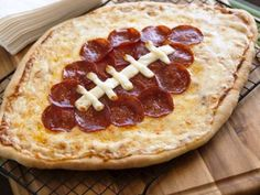 Pizza Foods - Football Pepperoni Pizza