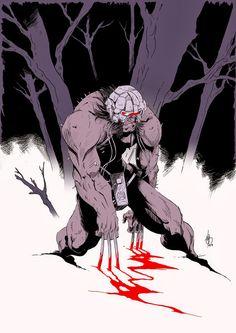 Fanart of Wolverine by Job