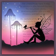 mystical magical silhouette fairies