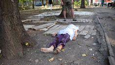Fighting Kills Elderly Church Member During Ceasefire in Donetsk Ukraine