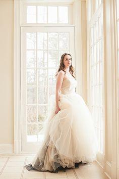 Silk & Ivory wedding dress