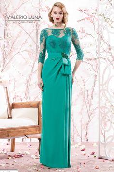 Vestido de madrina largo modelo 4501 Valerio Luna By Higar Novias by Higar Fiesta | Boutique Clara