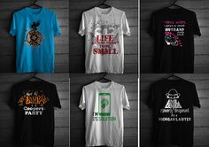 T-shirt designs on Behance