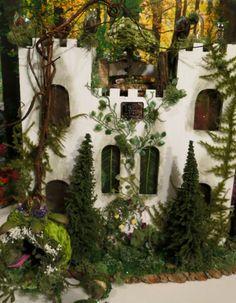 Fairy+House+Faery+and+the+Beast+Fairytale+by+WoodlandFairyVillage,+$209.95