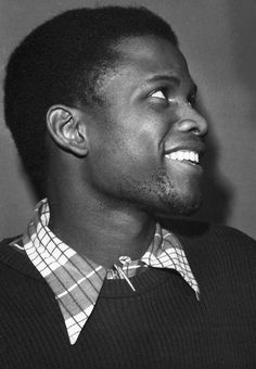 A young Sidney Poitier 1952