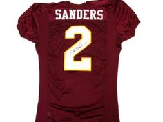 Deion Sanders Signed FSU Jersey #SportsMemorabilia #FloridaStateSeminoles