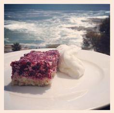 Miranda's Berry Slice- dairy free dessert