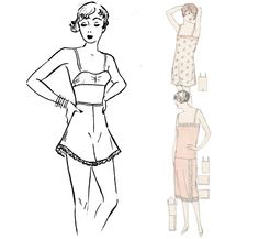 Free Pattern Vintage Skimpies  https://amybarickman.com/wordpress/wp-content/uploads/2011/07/Underthingsareskimpy.pdf
