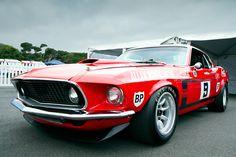 Allan Moffat 1969 Trans Am Mustang