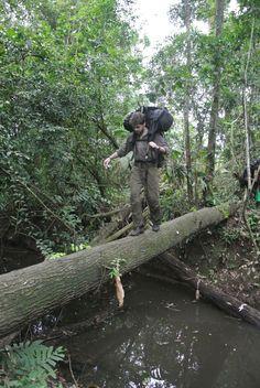 Trekking Through Panama Jungle