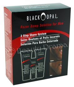 Black Opal Anti-Bump Treatment Razor Bump Solution Shave System