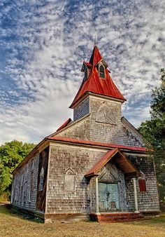 abandoned ruins Bethel AME Church-1872-McClellanville