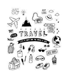 #travel #doodle