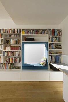 Un coin lecture, c'est avant tout un espace de repos, dédié à la lecture ou tout…