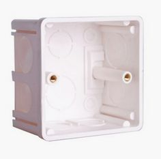 Free Shipping Installation ABS Materials Mounting Box  Internal Mount Box for 86mm*86mm Standard Wall Light Switch Hotel Switch