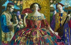 Andrey Remnev : (oil on canvas) Olga Suvorova: (oil on canvas)