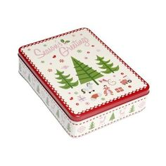 Christmas tin to fill with home made treats!