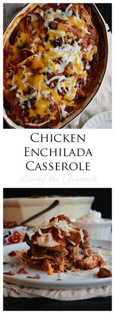 Craving comfort food? Check out our hearty Chicken Enchilada Casserole is the perfect weeknight meal @Quillcom #recipes #comfortfood #LTG