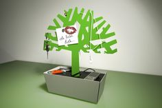 Radius Design - Ladestation Tree of Charge