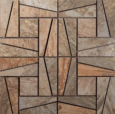 "#Interceramic - Slate Supremo Winter Mosaic 16"" x 16"""