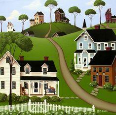 higginsville, catherine holman folk art