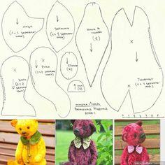 Мишка Лиам с выкройкой / Выкройки игрушек / Бэйбики. Куклы фото. Одежда для кукол