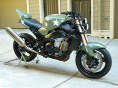 Custom Streetfighter Motorcycle