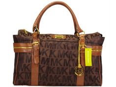 Michael Kors Chocolate With Brown Classic Tote