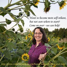 Become More Self-Reliant - Start Here @ Common Sense Homesteading