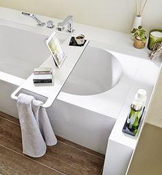 So Wird Es In Der Badewanne Gemütlich: Das RepaBoard Wird Einfach Auf Die  Wanne Gelegt Und Dient Als Schicke Ablage Für Bücher, Gläser, Tablets Etc.