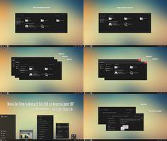Minimal Dark Theme Win10 Creators Update by Cleodesktop