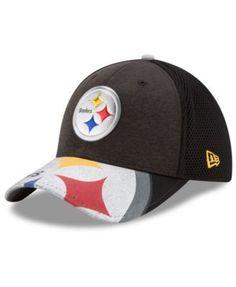 New Era Pittsburgh Steelers 2017 Draft 39THIRTY Cap - Black M/L
