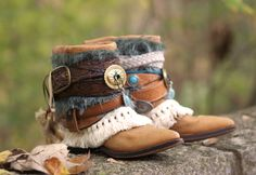 boho boots for fall from TheLookFactory on Etsy