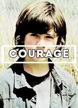 """Courage"" Carl Grimes 