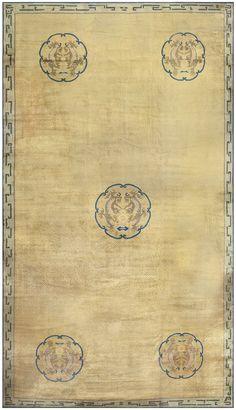Antique Chinese Carpet 50114
