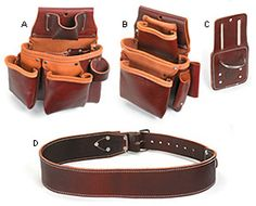 Occidental Leather® Pro Framer™ Belts & Components - Lee Valley Tools
