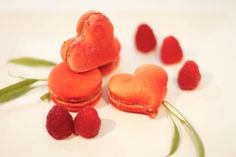 OMG heart-shaped macarons! By Rocq Macarons