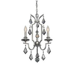 View the Savoy House 1-874-3 3 Light Chandelier at LightingDirect.com.
