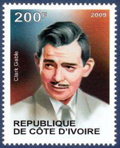 Republique De Cote D'Ivoire 2009 - Clark Gable