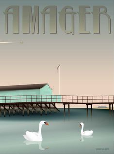Whether you have Finnish blood in your veins or would not dream of taking a dip until July, the public baths at Amager Helgoland are the place to be. Buy here! Polar Bear Club, Blue Bath, Our Environment, Eco Friendly Paper, New Poster, Europe, Rest Of The World, Travel And Tourism, Vintage Travel Posters