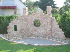 Die 306 besten Bilder von Ruinenmauer | Garden walls, Brick wall und ...