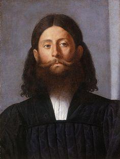 Portrait Of A Bearded Man By Lorenzo Lotto, Circa 1512-1515