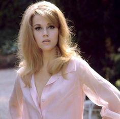 Jane Fonda in pink