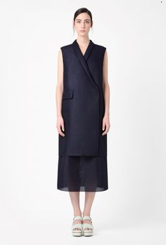 I love this blazer-dress from COS.