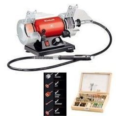 Esmeriladora-minitaladro 120w Disco 75mm+eje Flexible+100acc Power Carving Tools, Wood Carving Tools, Wood Tools, Dremel 3000, Dremel Projects, Duck Decoys, Electrical Tools, Mini, Home Appliances