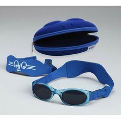 TUGA  Kid s Strap Around UV Protective Sunglasses by Zoioz - Blue Kids  Sunglasses d0d0e9de2f72